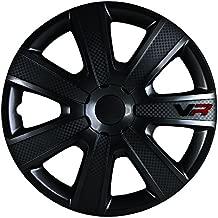 Alpena 58259 VR Carbon Wheel Cover Kit - Black - 15-Inch - Pack of 4