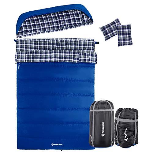 0 degree sleeping bag 2 person - 7