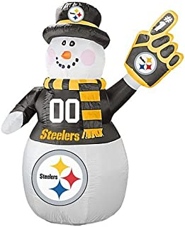 steelers snowman inflatable