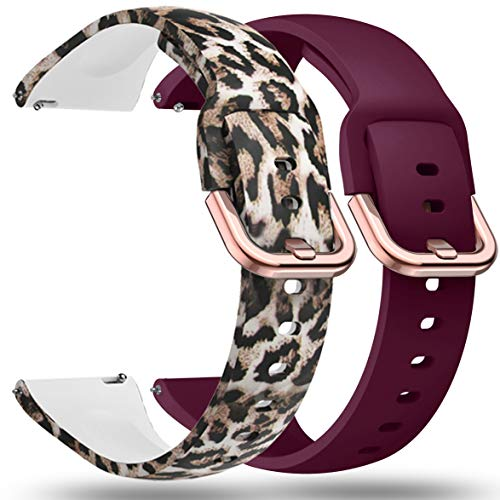 smaate Slim Replacement Band Only for Veryfitpro ID205L Smart Watch ID205U ID205 ID205S ID215G, Silicon Watch Strap, LS205SM7LR ,Large