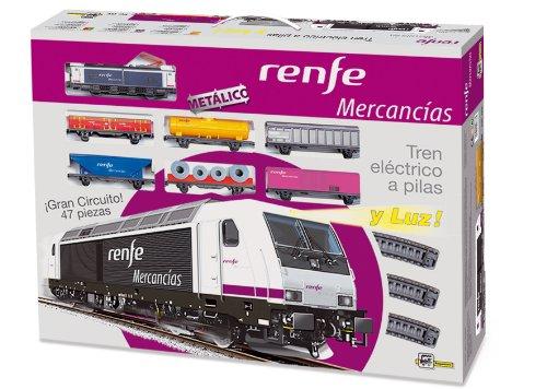 PEQUETREN - Renfe de mercancías, Tren con Circuito de 8.3 m