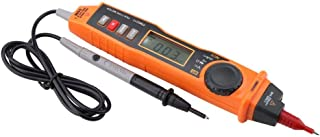Digital multimeter, PEAKMETER PM8211 Non-contact electrical digital AC/DC voltage test multimeter with LED display, voltag...