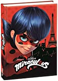 Miraculous. Diario escolar Ladybug original rojo 2019/2020 + bolígrafo de color + colgante