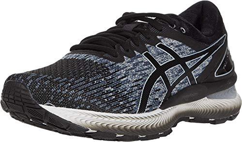 ASICS Men's Gel-Nimbus 22 Running Shoes, 8.5M, Black/Black