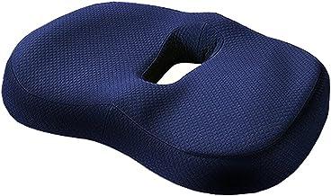 WHOJA Orthopedisch zitkussen voor stuitbeen ischias reliëf, ergonomische houding zitkussen voor bureaustoelen, rolstoel, k...