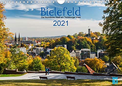Bielefeld - Die freundliche Stadt am Teutoburger Wald (Wandkalender 2021 DIN A4 quer)