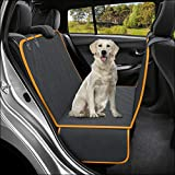 Active Pets Dog Back Seat Cover Protector Waterproof Scratchproof Hammock for...