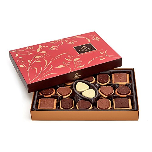 Godiva Chocolatier Assorted Chocolate Biscuit Gift Box