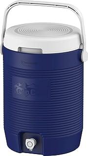 مبرد مياه بلاستيكي معزول لحفظ الماء بسعة 16.5 لتر من كوزموبلاست - MFKCXX013BL
