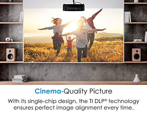 Optoma HD146X High Performance Projector for Movies & Gaming   Bright 3600 Lumens   DLP Single Chip Design   Enhanced Gaming Mode 16ms Response Time