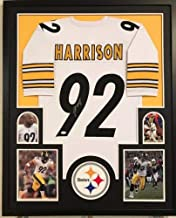 Framed James Harrison Autographed Signed Pittsburgh Steelers Jersey - JSA Authentic