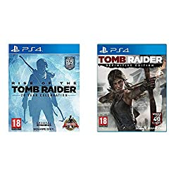Product 1: The Critically Acclaimed Action Adventure - In Rise of the Tomb Raider, Lara uncovers an ancient mystery that places her in the cross-hairs of a ruthless organization known as Trinity. As she races to find the secret before Trinity, the tr...