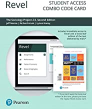 Revel for The Sociology Project 2.5: Introducing the Sociological Imagination -- Combo Access Card (2nd Edition)