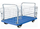 Bigapple WH-4 Preminum Quality Material Handling Industrial Trolley, 300kg Capacity, Highly Durable