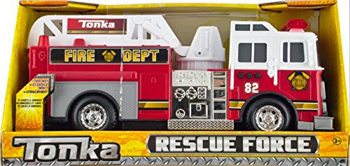 Tonka Rescue Force Lights and Sounds Police Car (Fire Truck)
