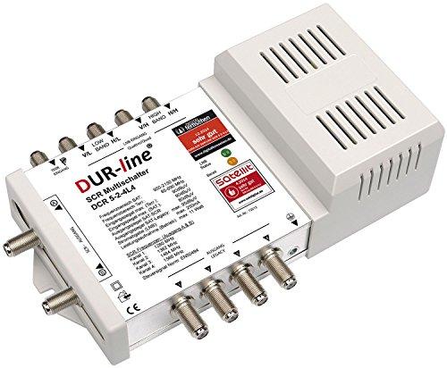 DUR-line DCR 5-2-4-L4 SCR-Schalter - Einkabellösung für 2x4 SCR-Teilnehmer + 4 Legacy Ausgänge [ Test SEHR GUT *]