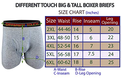 Pack of 3 Harbor Bay by DXL Big and Tall Knit Boxer Briefs