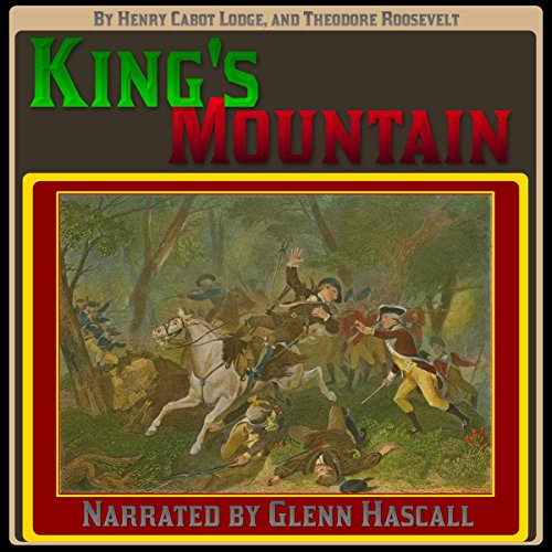 King's Mountain audiobook cover art