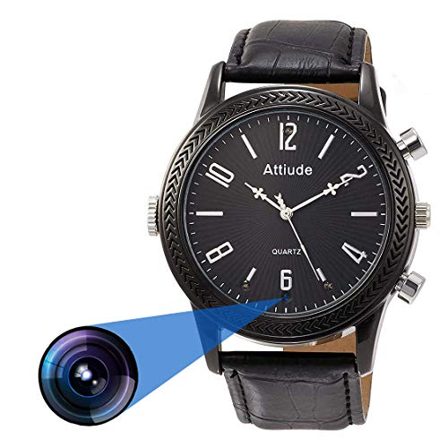 Symynelec 1080P Professional Hidden Camera Watch
