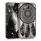 kwmobile Crystal Case for Huawei G8 / GX8 - Hard Durable