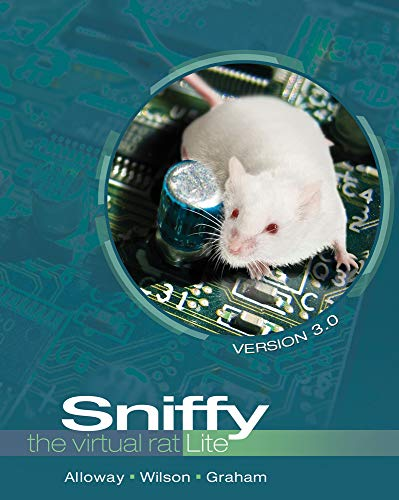 Sniffy The Virtual Rat Lite Version 3 0 With Cd Rom
