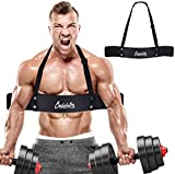 Celebrita Arm Blaster for Arm & Bicep Support - Bicep Curl - Muscle Bomber for Biceps, Triceps, Arm Muscle Strength - Bicep Blaster Heavy Duty for Body Builders & Weightlifters (Black)