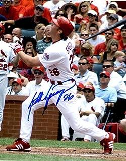Autographed Signed Scott Spiezio 8x10 St. Louis Cardinals Photo - Certified Authentic