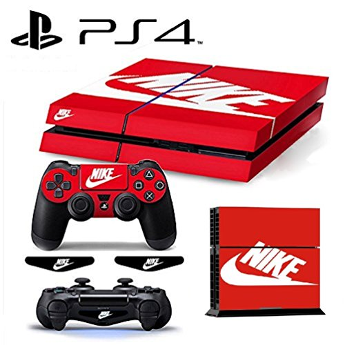 MATTAY ShoeBox Whole Body Vinyl Skin Sticker Decal Cover for PS4 Playstation 4 System Console and Controllers
