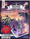 Escape Adventures AR – Augmented Reality. Von Pixeln und Endgegnern: Das ultimative Escape-Room-Erlebnis mit spannenden Augmented-Reality-Rätseln für ... Mittel. 120 Minuten Spielzeit