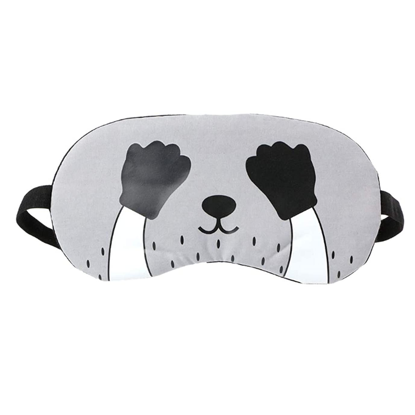 儀式冷蔵するキリンHEALIFTY 眠る目のマスクかわいい漫画のプリント氷の圧縮睡眠マスク目隠しの女の子のための