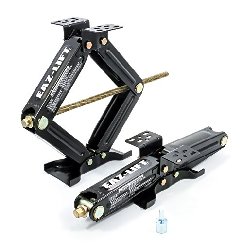 Eaz-Lift 20' RV Stabilizing Scissor Jack, Fits Pop-Up Campers and Travel Trailers - Pack of 2 (5,000lb rating) - 48800