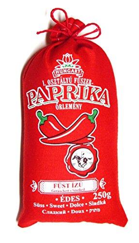 Ungarische Paprika Süß/Scharf/Geräuchert (Herkunft: Kalocsa, Ungarn) (Süß & Geräuchert, 250g)