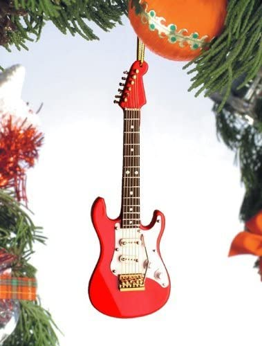 Electric Guitar-Red In stock Indefinitely White Gifts by Broadway