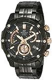 Casio Efr-559dc-1avudf Reloj Analógico para Hombre Colección Edifice Caja De Acero Inoxidable Esfera Color Negro