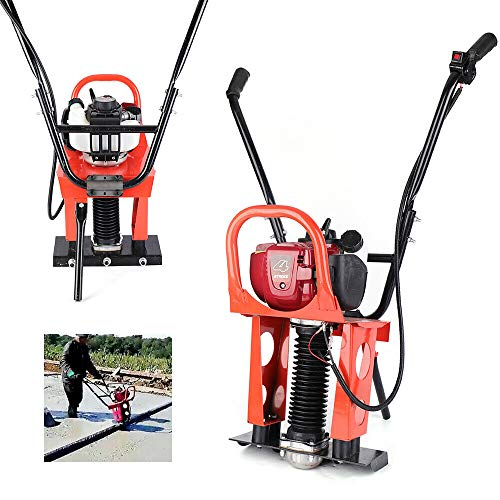 4 Stroke 37.7cc Concrete Vibrating Vibrator, Gas Concrete Wet Screed 1.2HP Power Screed Cement Vibrator Gas Engine Cement GX35 )(US Shipping)