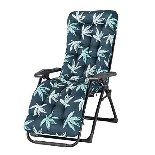 Ruby Lil Sdraio da Spiaggia Cuscino, Chaise Lounge Chair Cuscino Patio Cuscineria Esterna Materasso Giardino Ammortizzatore Spesso Sede Cuscino del Divano Tatami (Solo Cuscino),48x155cm(19x61inch)