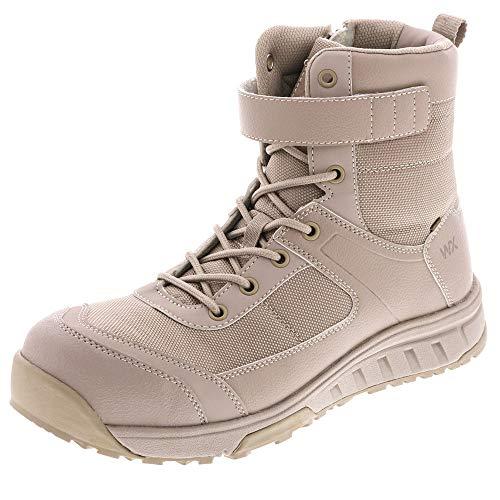 アシックス 商事 安全靴 ブーツカット TEXCY WX(テクシーワークス) ベルトタイプ 安全スニーカー ワークシューズ WX-0009 ハイカット 25.5 033ベージュ