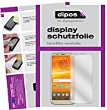 dipos I 6X Schutzfolie klar kompatibel mit Motorola Moto E5 Plus Folie Bildschirmschutzfolie (3X Vorder- und 3X Rückseite)
