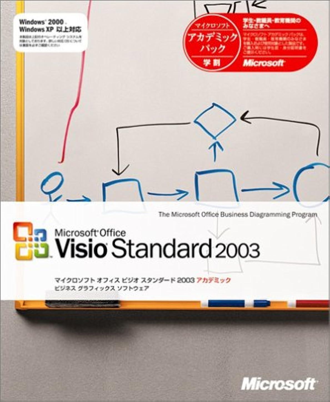 フリース歩行者バスタブ【旧商品/サポート終了】Microsoft Visio Standard 2003 アカデミック版