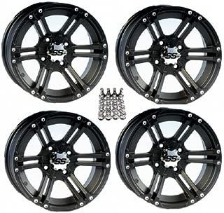 ITP SS212 ATV Wheels/Rims Black 12