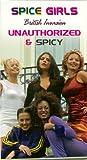 Spice Girls: British Invasion , Unauthorized & Spicy (1998) [VHS]