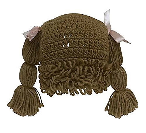 The Lilly Hat Woven Yarn Hair Hat - Adult Size - Light Brown, Brown, Size 12.0