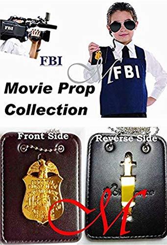 Mayflower CNFコレクション ? FBI ミニTVシリーズプロップ リトルクリップバック ユニバーサルレザーホルダー
