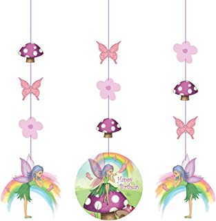 Fancy Fairy Printed Hanging Cutouts 36in 3Ct 52504