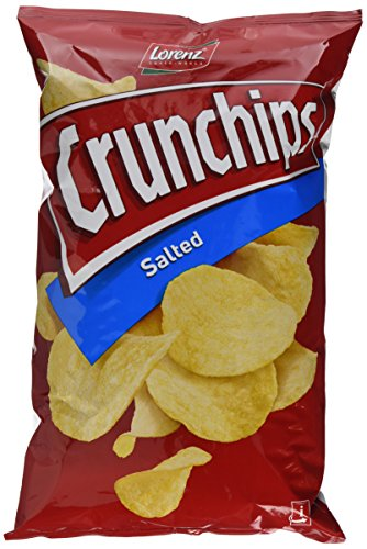 Lorenz Snack World Crunchips Salted, 10er Pack (10 x 175 g)