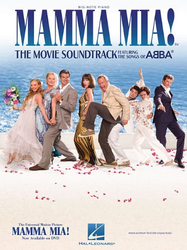 Mamma Mia!: The Movie Soundtrack Featuring The Songs Of Abba -Big Note Piano-: Noten für Klavier