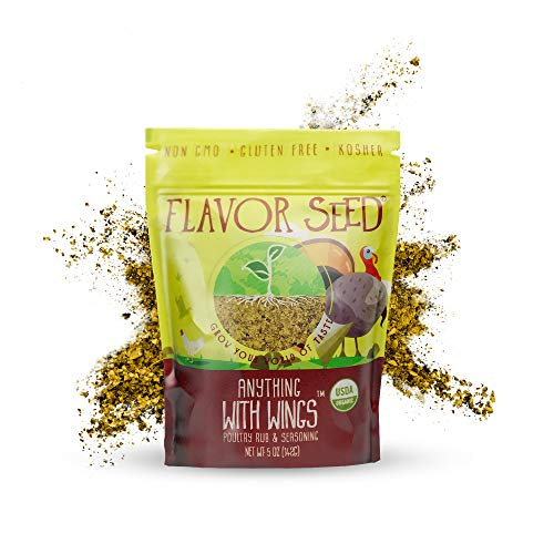 FLAVOR SEED - Organic Seasoning (Anything With Wings, 5 oz)