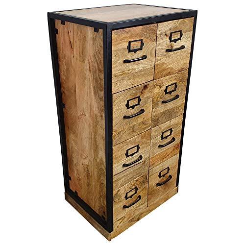 Anrichte Kommode Apothekerschrank Apothekerkommode Sideboard mit 2 Schubladen