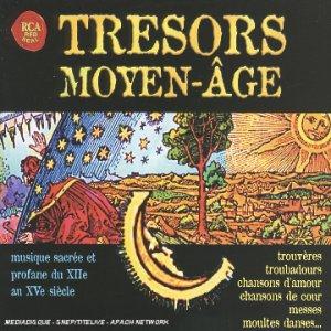 Le coffret 4 CD Trésors du Moyen Âge