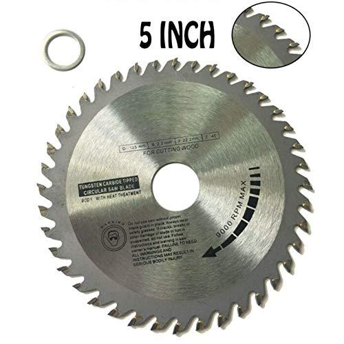 YO-TOKU 1pc 40 tanden cirkelzaag Carbide zaagbladen zagen van hout for haakse slijper zaagschijf Houten Snijder zaagblad for zagen van hout, 4 5 inches Metal Cutting zaagmachines